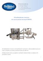 Ultradźwiękowa maszyna do szycia pasów bocznych MF030 katalog