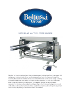 SUPER BG-MF matress filling machine catalogue